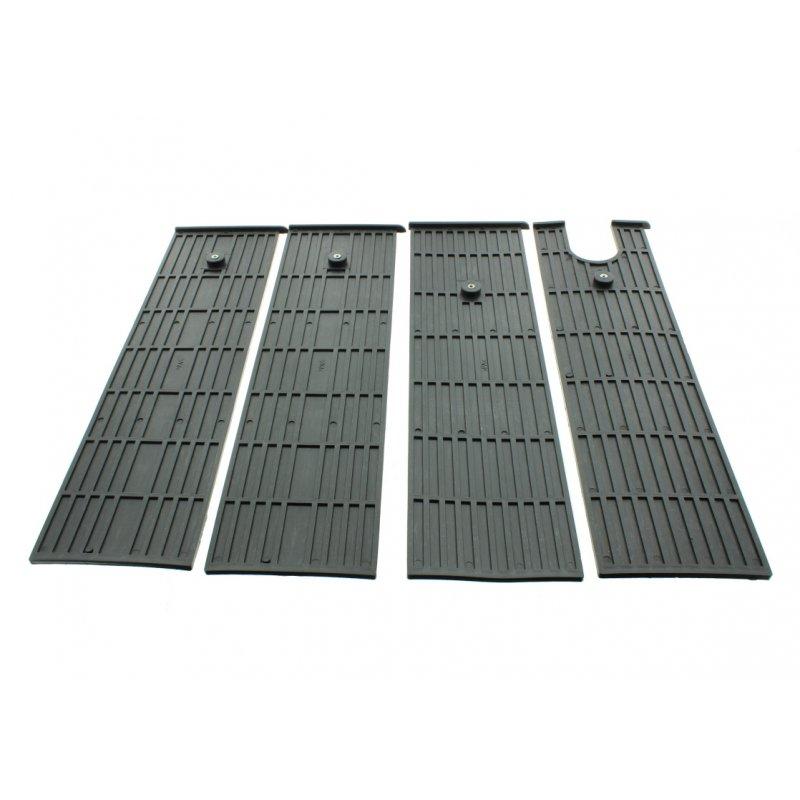 Gleitbacken-Set lang für Holzspalter Lumag HOS12A, 10A, HB 10S