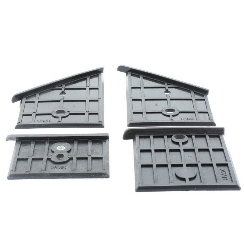 Gleitbacken-Set oben kurz (4 Stück) für Lumag HOS9A / HOS8