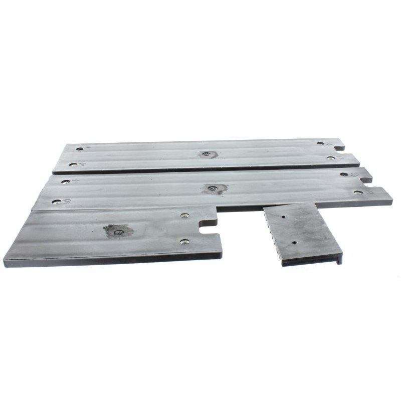 Gleitbacken-Set unten für Holzspalter Lumag HOS12A (T) (Teile-Nr.34-38)