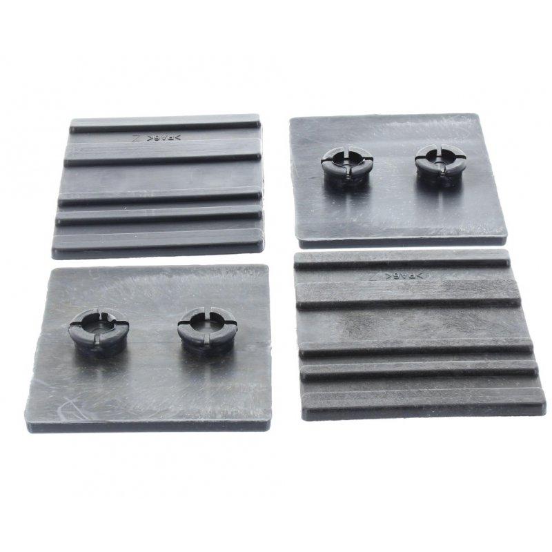 Gleitbacken-Set unten kurz (4 Stück) für Lumag HOS9A / HOS8