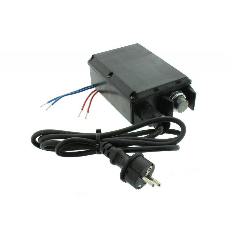 Schalter 230V für Lumag Holzspalter / Motorschutzschalter HOS 4, HOS 5