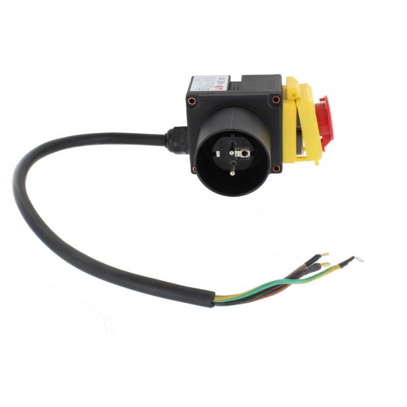 Schalter 230V (kurz) für Lumag Holzspalter / Motorschutzschalter