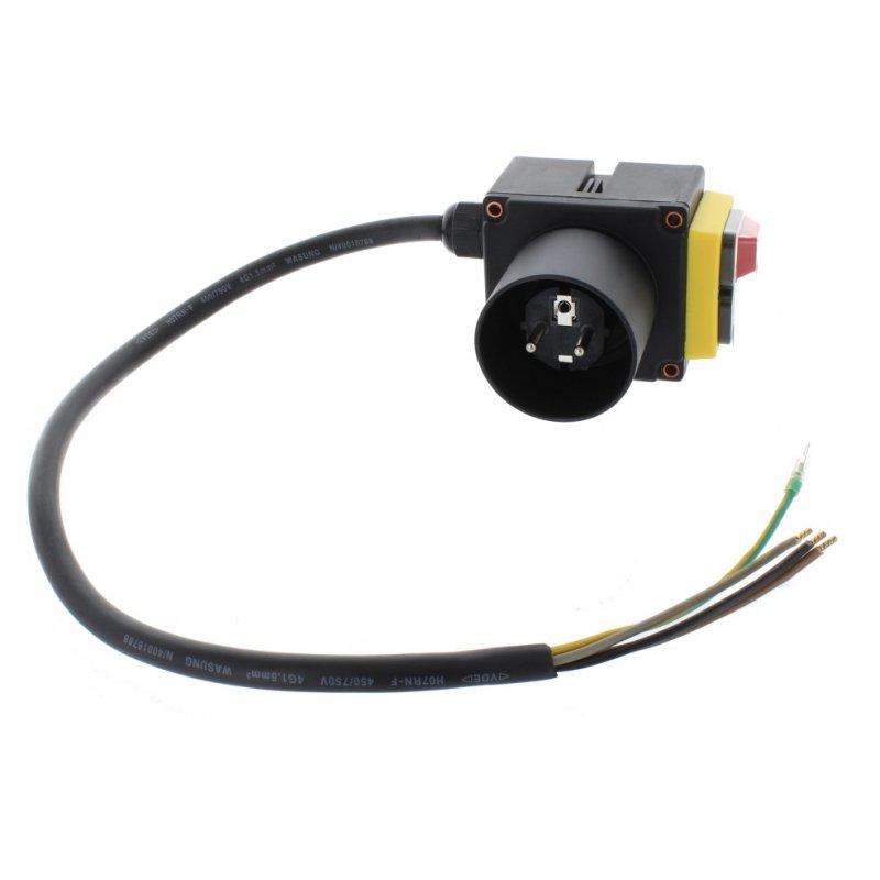 Schalter 230V (lang) für Lumag Holzspalter / Motorschutzschalter