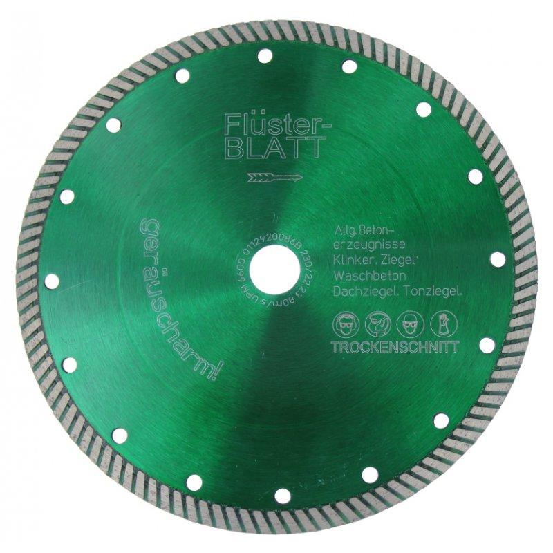 Diamant-Trennscheibe Flüsterblatt grün 150 mm 22,22 mm
