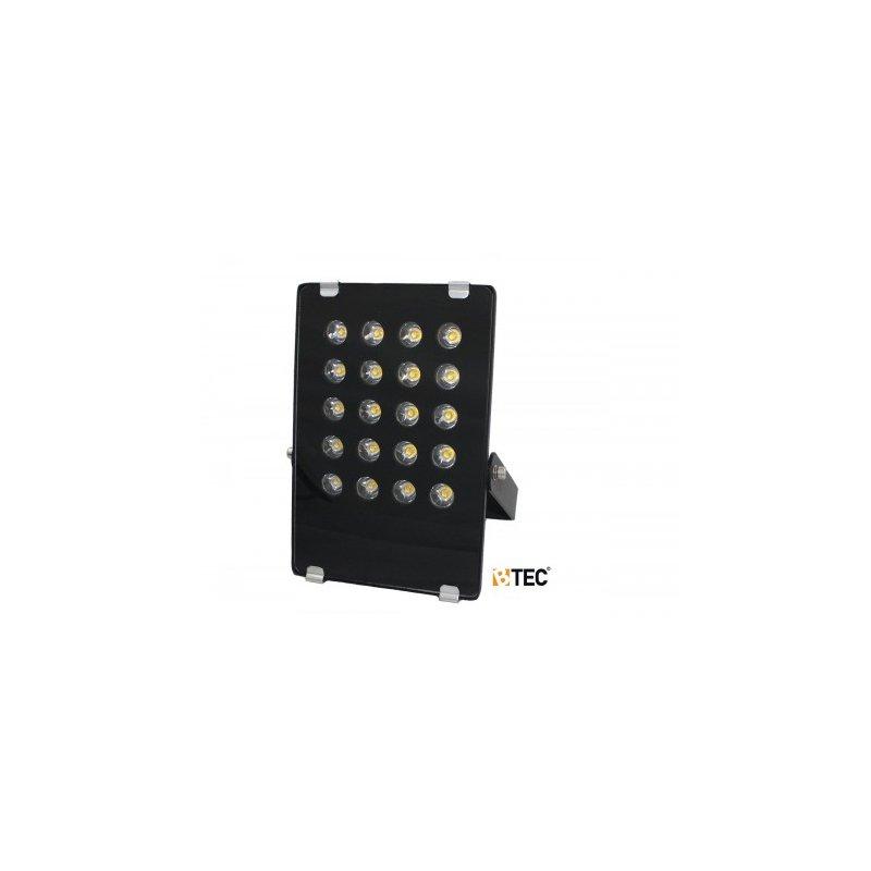 power led strahler 20 w 3500k mit montageb gel 73 78. Black Bedroom Furniture Sets. Home Design Ideas