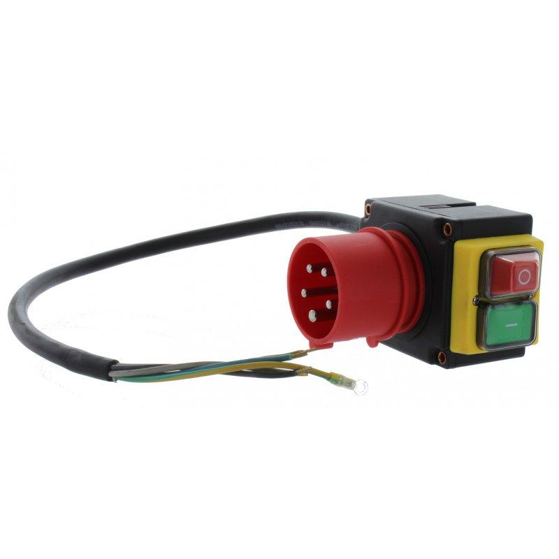 Schalter 400V (lang) für Lumag Holzspalter / Motorschutzschalter